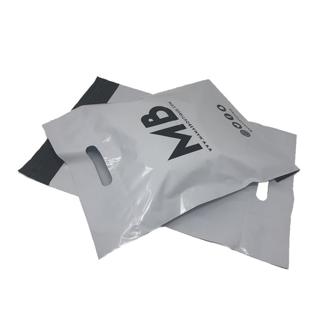 Medium sized Carry Handle Mailing Bag